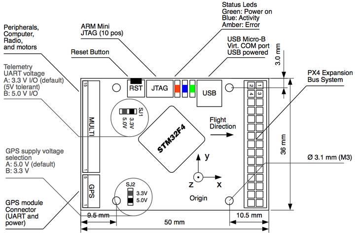 pixhawk wiring diagram