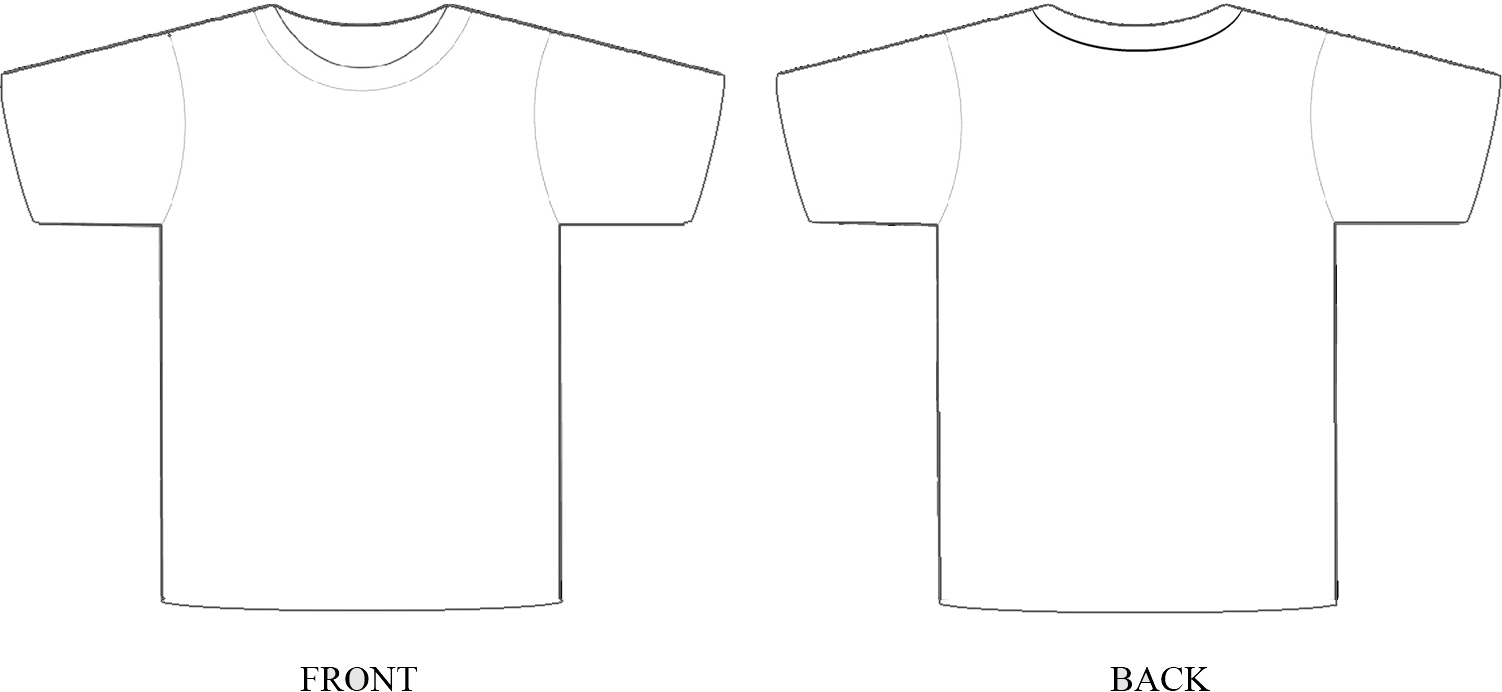 Design T Shirt In Photoshop Template