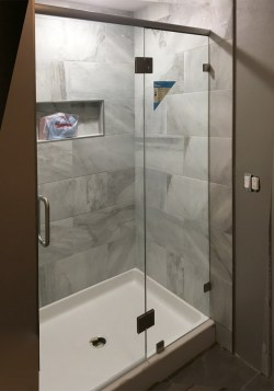 Small Of Shower Glass Panel