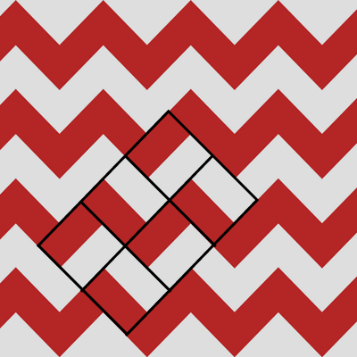 rectangle chevron pattern
