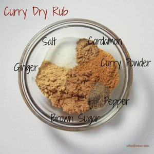 Curry Dry Rub Ingredients