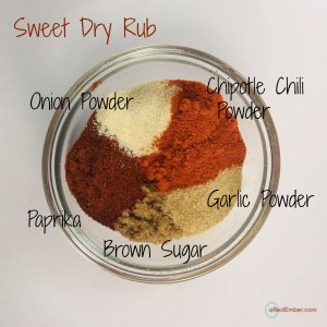 Sweet Dry Rub Ingredients