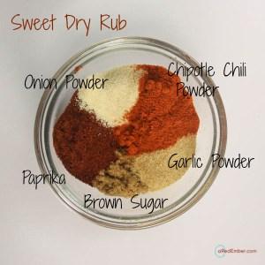 Sweet Dry Rub Ingredients