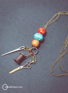 long dangle necklace