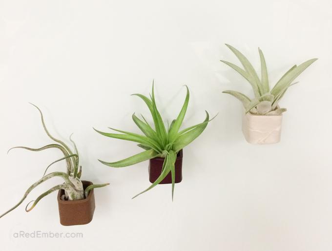 DIY Magnetic Flower Pot