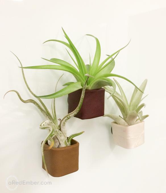 magnetic plant pot