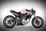 Konsep Modifikasi New Vixion Cafe Racer Mod Ern D CXRider