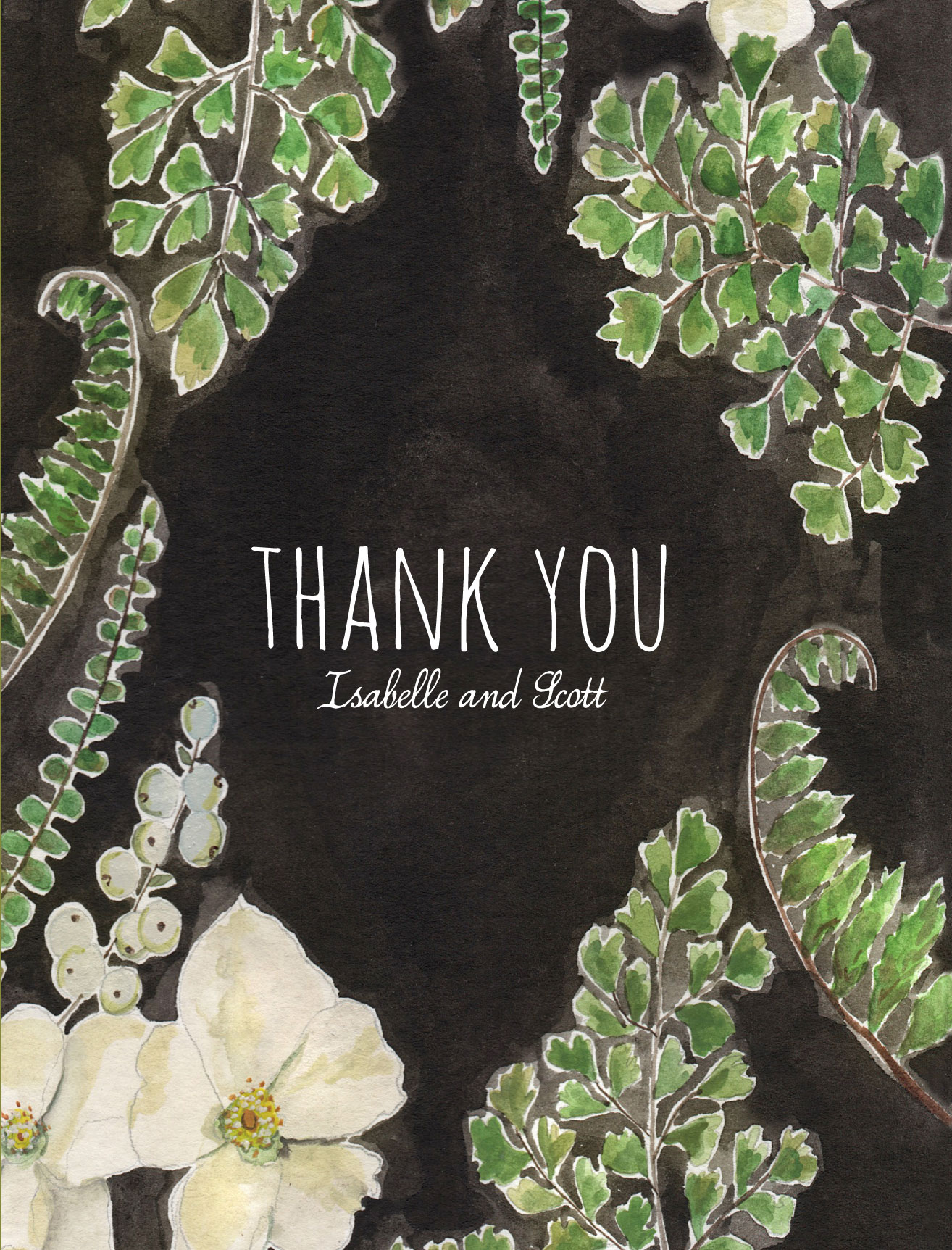 a thank you note for a gift