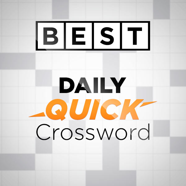 Best Daily Quick Crossword - Free Online Game Daily Mail