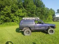 Jeep XJ Roof Rack | Evolution Expedition| (84-01) - Ares ...