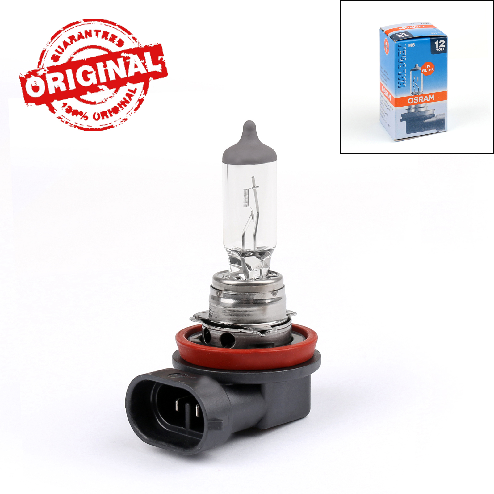 Osram Lamp Details About 1x Osram H8 12v 35w 3200k Halogen Original Headlight Lamp Bulb Made In Germany B