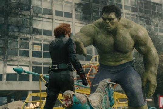 Avengers Hulk Black Widow