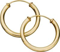 Buy 9ct Gold Capped Hoop Earrings at Argos.co.uk - Your ...