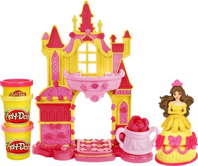 Buy Play Doh Disney Prettiest Princess Belle39s Castle At