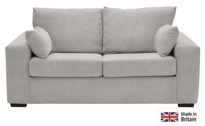 Sofas At Argos Buy Heart Of House Eton Fabric Sofa Bed - Grey At Argos.co