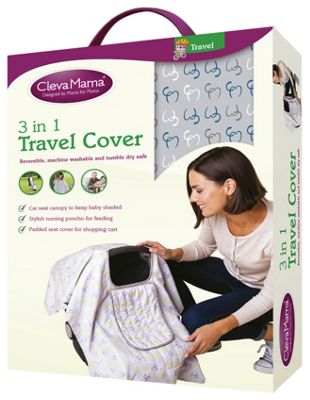 Baby Seat For Car Argos Buy Clevamama 3 In 1 Travel Cover Capri At Argos Co Uk