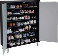 Buy Hygena Milan Frosted Glass Door Shoe Storage Cabinet