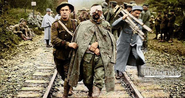Battle of the Somme Remembered in Color