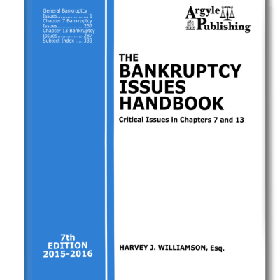 Bankruptcy Issues 2015 eCover