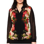 plus-size-womens-worthington-sheer-buttondown-blouse-plus