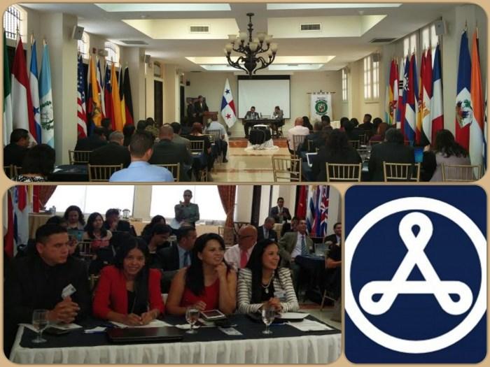Collage de Fotos, Conferencia en Panamá