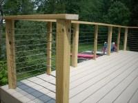 build hog wire deck railing  Design and Ideas