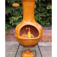 clay fire pit chiminea  Design and Ideas