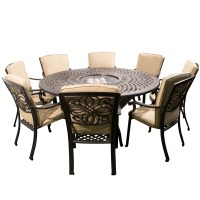 fire pit table and chairs set costco  Design and Ideas