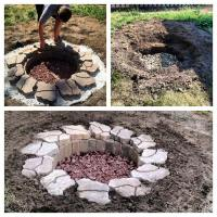 in ground fire pits how to build  Design and Ideas