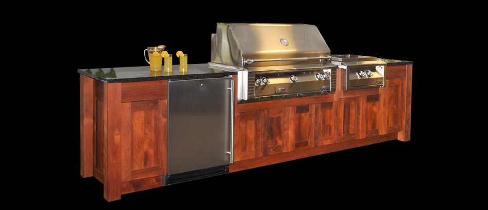 Outdoor Kitchen The Oasis Refrigerated Drawers Design