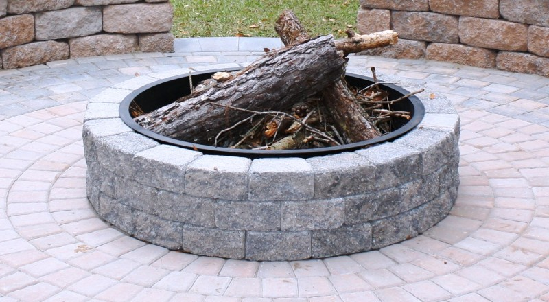 Round Rock Fire Pit Design And Ideas