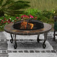 stone fire pits at lowes  Design and Ideas