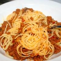 Easy Spaghetti Bolognese Recipe