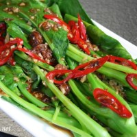 Kailan with Oyster Sauce Recipe
