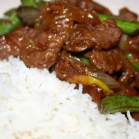Beef with Ginger and Lemongrass