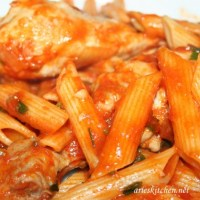 Homey Chicken Penne Pasta Recipe