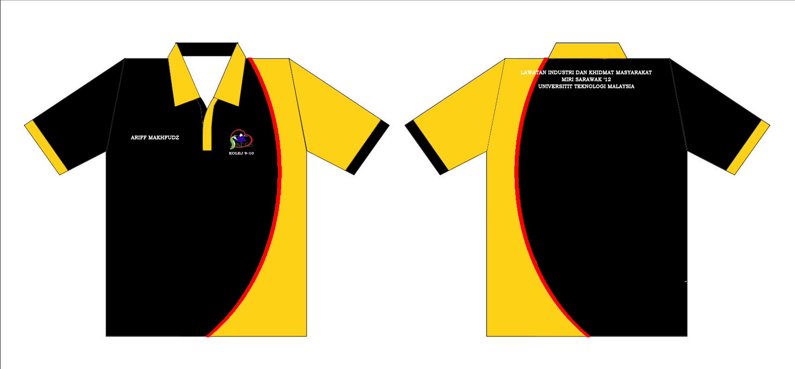 38 design baju program sinec 2012