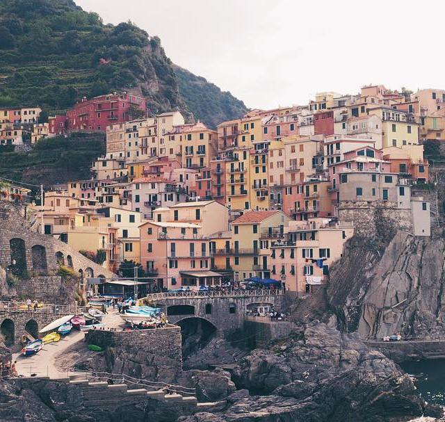 This view of Manarola is associated to Cinque Terre inhellip
