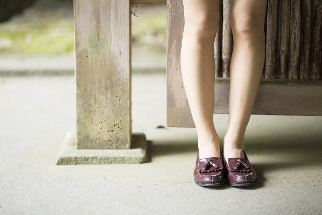 女性 O脚