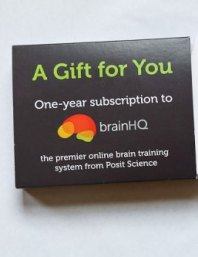 BrainHQ product packaging