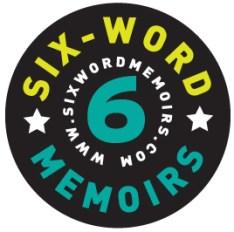 6 word memoirs Logo design