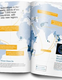 Halo Trust Annual Report design
