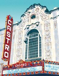 Castro Theater Art Print