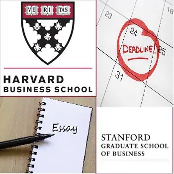 HBS  Stanford released new essay topics and deadlines for 2018-2019