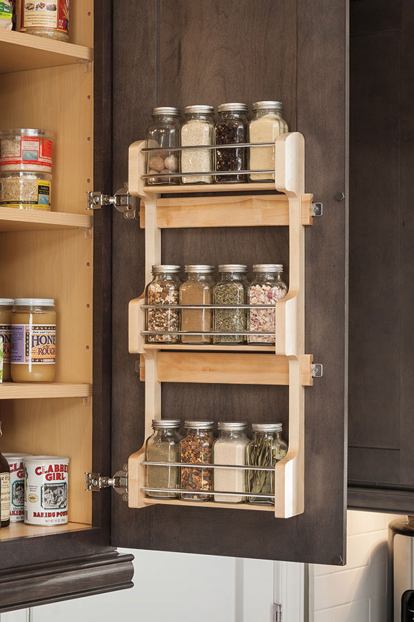 My Houzz Wall Spice Rack Cabinet - Aristokraft Cabinetry