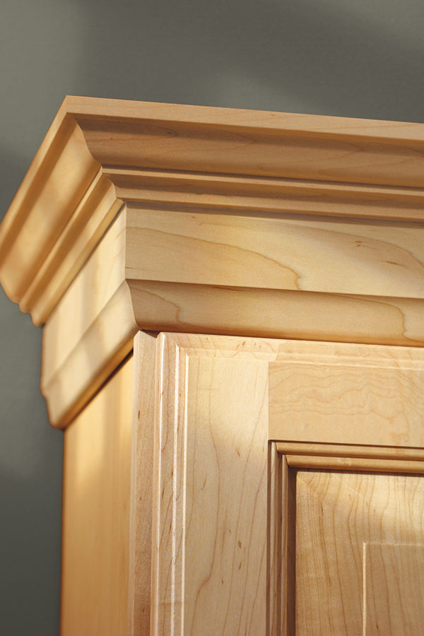 My Houzz Georgian Crown Moulding - Aristokraft Cabinetry
