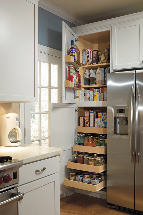 "Ikea Pantry Storage 24"" Pantry Supercabinet - Aristokraft Cabinetry"