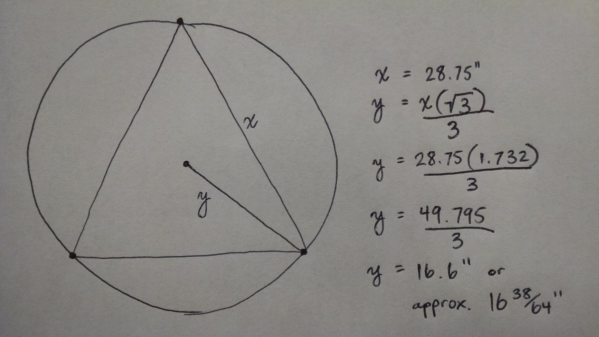 Download How To Find The Radius Of A Inscribed Circle How To Find The  Radius Of