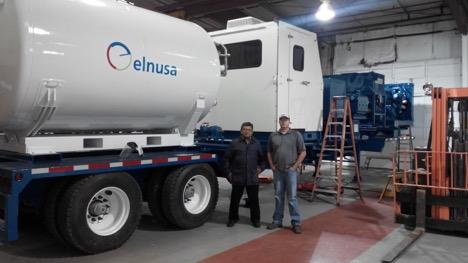 Melakukan inspeksi dan progress updated visit terhadap peralatan yang dipesan oleh Elnusa di Forth Worth, TX.