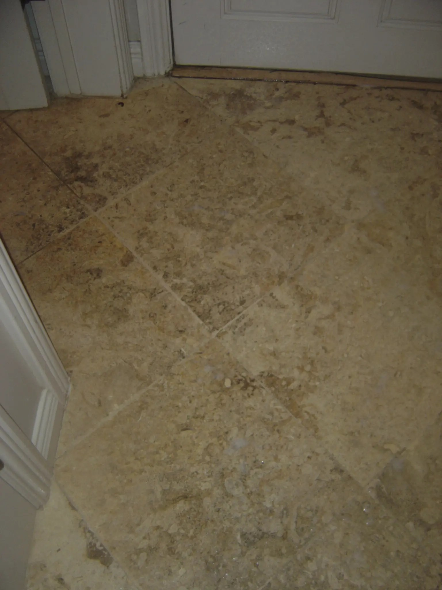 Travertine Countertop Care Travertine Floor Before Cleaning And Sealing Tucson Az